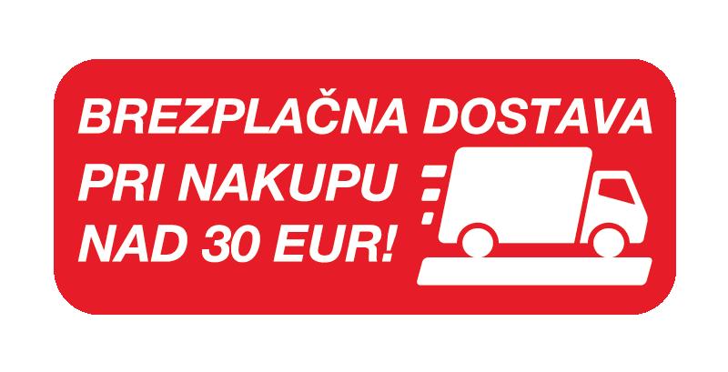Brezplačna dostava nad 30 EUR