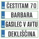 Avto registrske tablice darilo ideja za rojstni dan