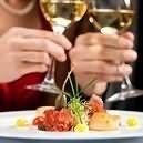 Romantična večerja za dva