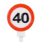 Sveča Prometni Znak 40