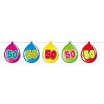 Girlanda Baloni 50