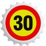 Odpirač Magnet Prometni Znak 30 Let