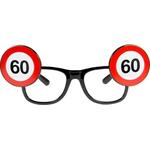 Dekoracija Očala Prometni Znak 60
