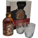 Whisky Chivas Regal 12, 0.7l v embalaži + 2 kozarca