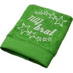 Brisača Naj brat, svetlo zelena 100x5Ocm 100% bombaž