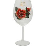 Kozarec Vino Poslikava Vrtnica Rdeča 40let