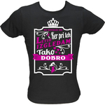 Majica ženska (telirana)-Ne sovraži me ker pri teh letih izgledam tako dobro L-črna