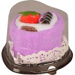 {[sl]:Tortica iz brisač v obliki srca(20x20cm) pink, vijolična, s