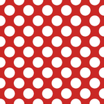 Papirnate serviete, rdeče z belimi pikami, 33x33cm, 20kom