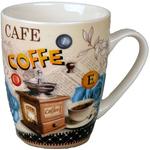 Lonček Coffe porcelan 8,5x10,5cm sort