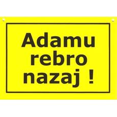 Prep. Fore Adamu rebro nazaj !