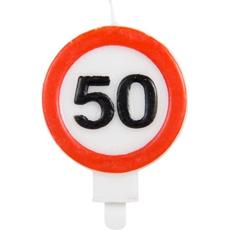 Sveča Prometni Znak 50
