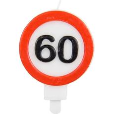 Sveča Prometni Znak 60