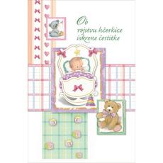 Voščilo, čestitka ob rojstvu dojenček, ob rojstvu punčke