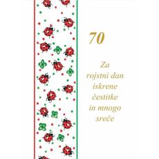 Voščilo Čestitka Rojstni Dan Pikapolonica 70 Let