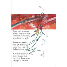 Božični verz – Drevesce želja