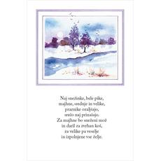 Božični verz – Indijanski spev za sneg