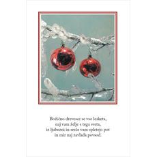 Božični verz – Lesketajoče drevesce