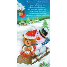 Božični verz – Snežna gaz