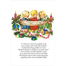 Božični verz – Veseli angelčki