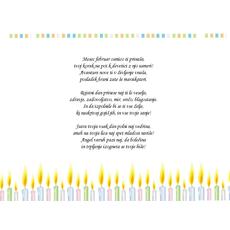 Čestitka za rojstni dan – Februar