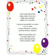 Čestitke za rojstni dan – Brez skrbi