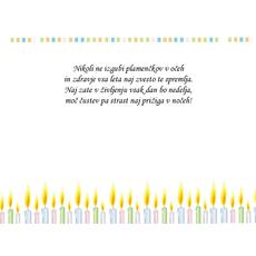 Čestitke za rojstni dan – Plamenčki v očeh