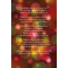 Novoletni verzi – Staro leto se umika