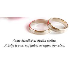 Poročni verz – Dve besedi, ena želja