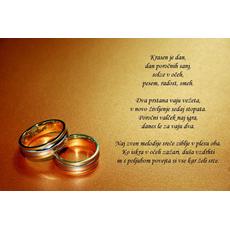 Poročni verz – Krasen dan