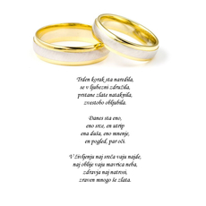 Poročni verz – Trden korak