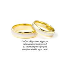 Poročni verz – Z roko v roki