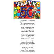 Verz Abraham – Prelomno leto za moškega