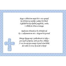 Verz za birmo – Bog v srce - fant