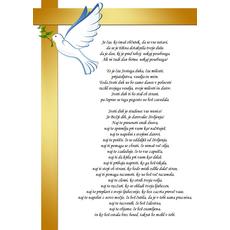 Verz za birmo – Sveti duh - misel