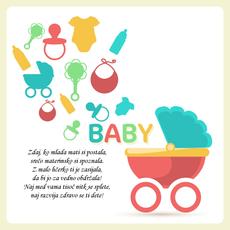 Verzi ob rojstvu punčke - Materinska sreča