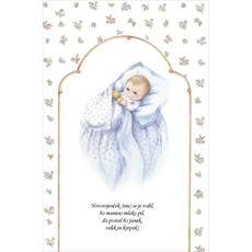 Verzi ob rojstvu sina - Novorojenček