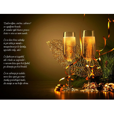 Verzi za novo leto – Oguljene besede