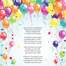 Verzi za rojstni dan – Dogodek leta