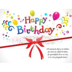 Verzi za rojstni dan – Sreča