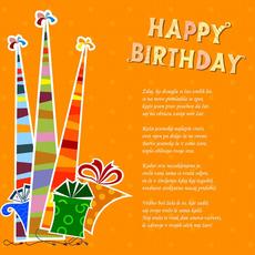Verzi za rojstni dan – Zrela leta