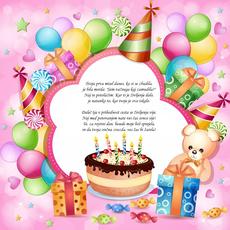 Voščilo za rojstni dan – Prva misel