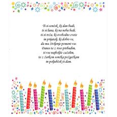 Voščilo za rojstni dan – Ti si …