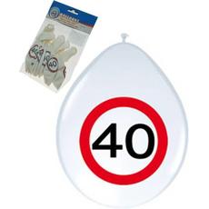 """Baloni Iz Lateksa 12"""" Prometni Znak 40 Let"""