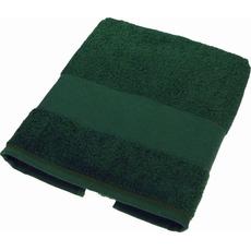 Brisača Temno Zelena Bombaž