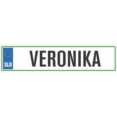 Registrska tablica - VERONIKA, 47x11cm