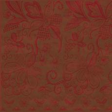 Papirnate Serviete Rdeče Cvetlični Motiv