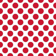 Papirnate serviete, rdeče, pikice, 33x33cm, 20kos.