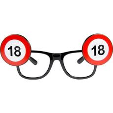 Dekoracija Očala Prometni Znak 18