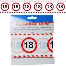 Trak iz pvc za označevanje - prometni znak 18, 15m